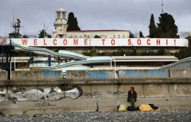 Добре дошли в Сочи (преди олимпиадата е)