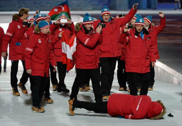 Паднал на олимпиадата