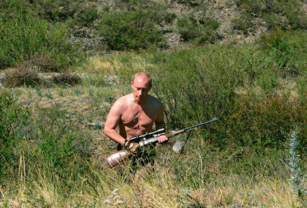 Путин Пушка