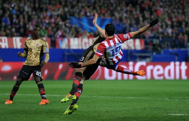 Диего Коща срещу Милан