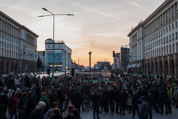 протест карадере