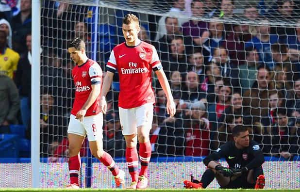 Арсенал, 0:6 от Челси