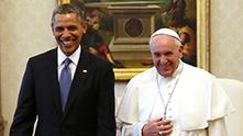 франциск и обама