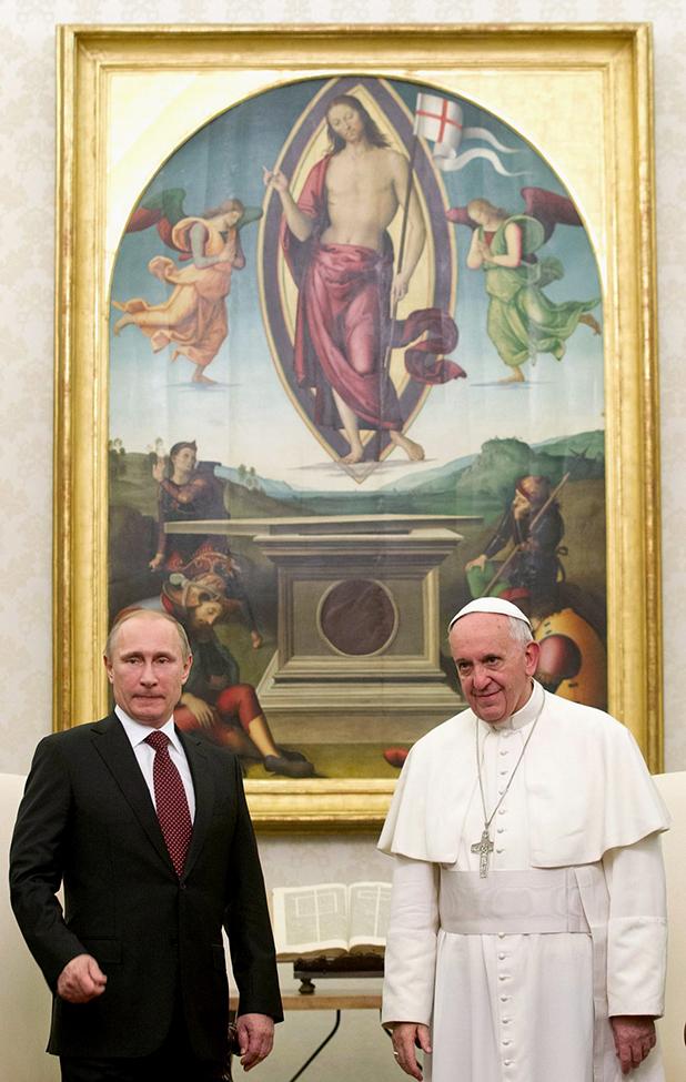 франциск и путин