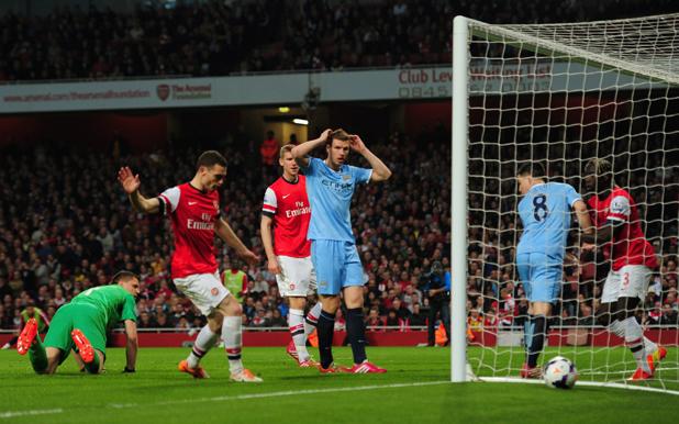 Арсенал - Сити 1:1