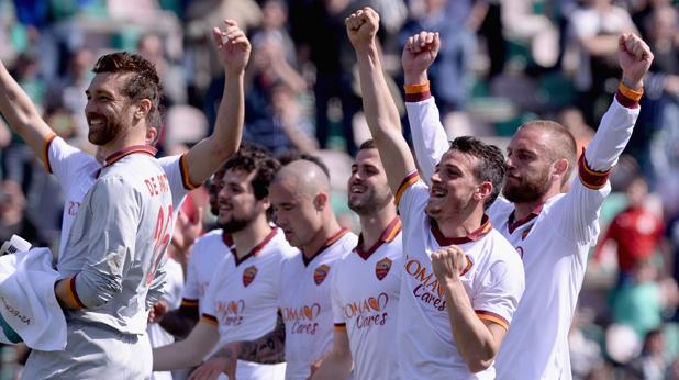Рома след 2:0 в Сасуоло