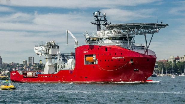 австралийският кораб