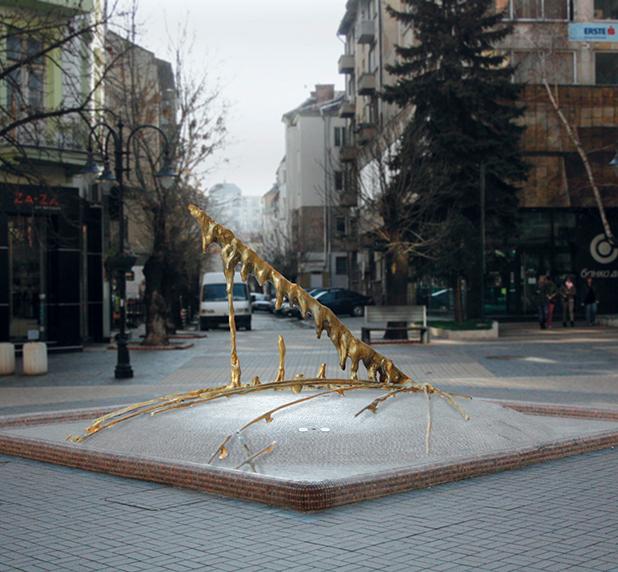 фонтан на витошка