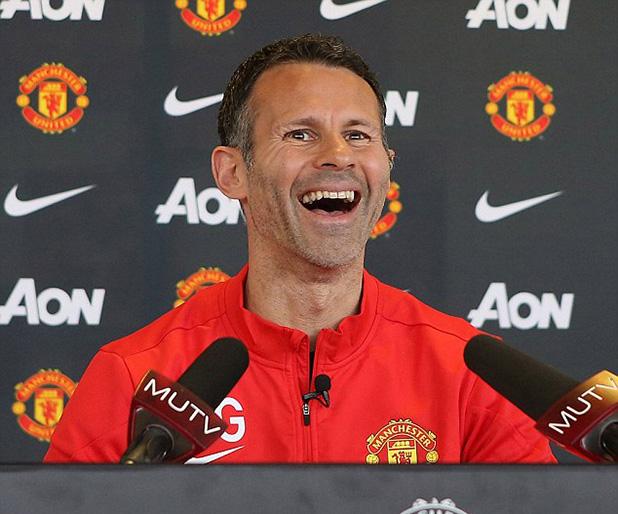 гигс - първа пресконференция като мениджър на Юнайтед
