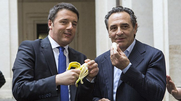 Прандели и Ренци, банан