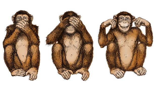 Трите мъдри маймуни 81