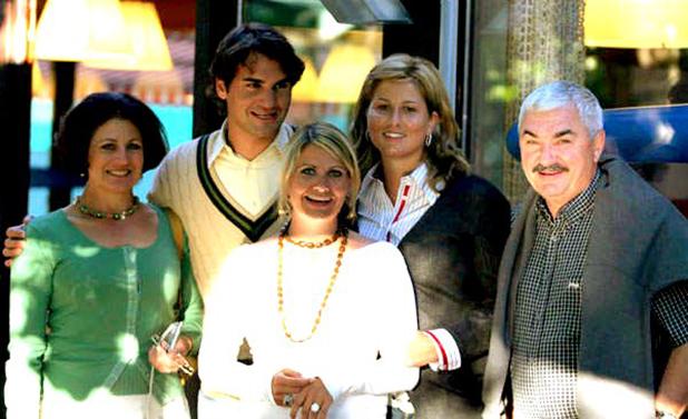 федерер и семейството му