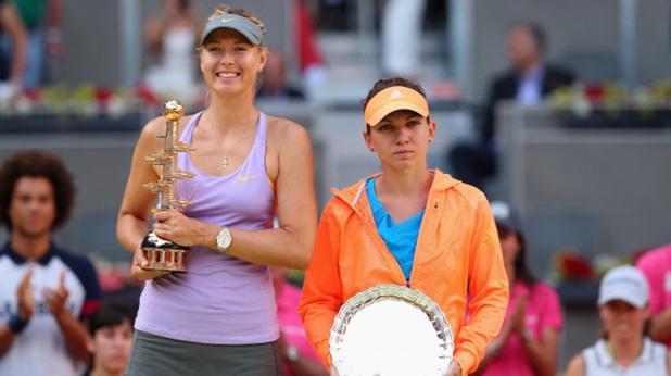 шарапова печели мастърса в мадрид след победа над халеп - 2014