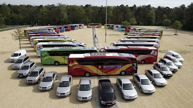 Автобуси, мондиал
