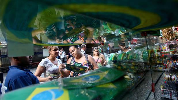 Рио се готви за Мондиала