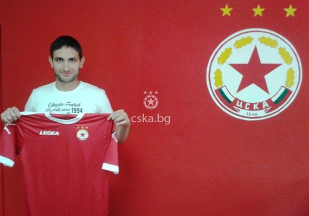 Александър Тунчев се завърна в ЦСКА