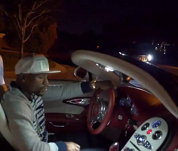 Мейуедър пръсна 3 млн. долара за трето Bugatti Veyron