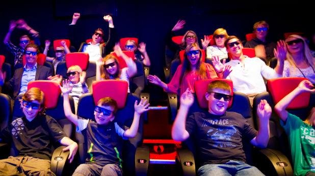 3d кино публика