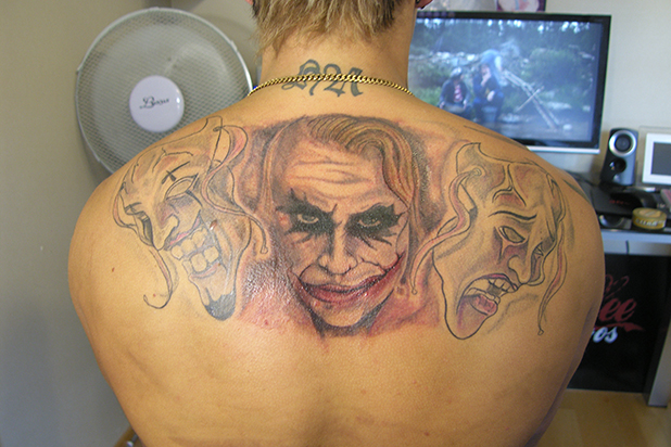 грозни татуировки