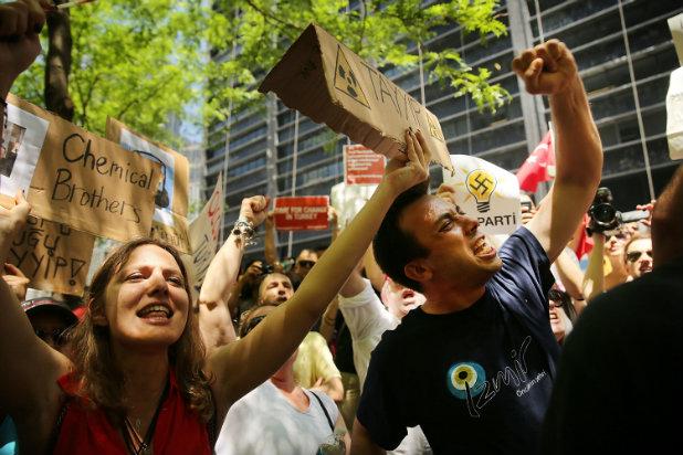 Първият ден от протестите