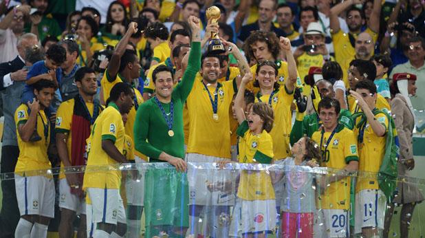 Бразилия, Конфедерации 2013