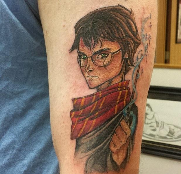 татуировки от хари потър