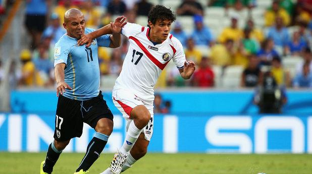 елцин техеда, коста рика - уругвай 3-1