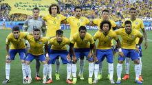 бразилия преди мача с хърватия на откриването на мондиала