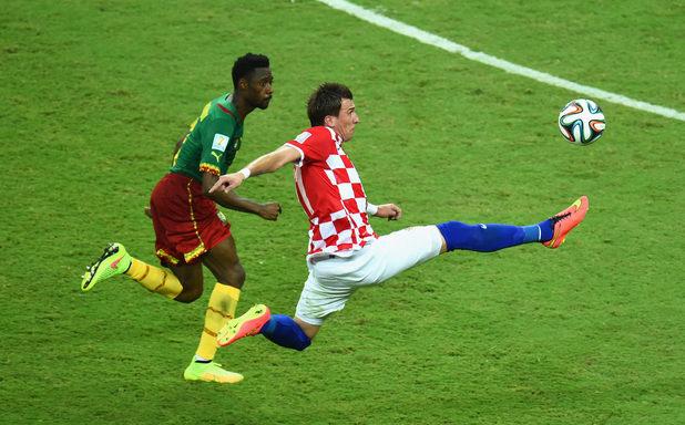 Манджукич, Хърватия - Камерун