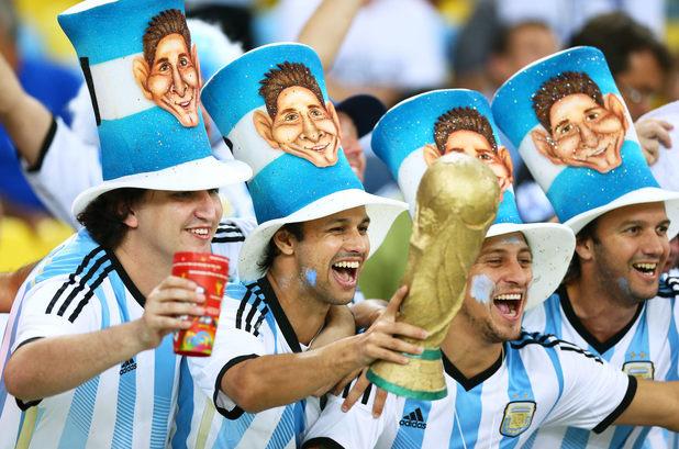 Аржентина, фенове