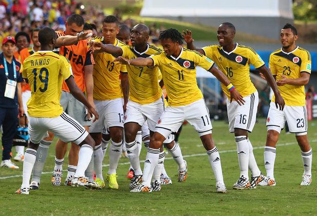 Колумбия - Япония