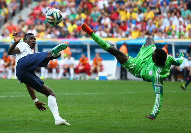 Франция - Нигерия
