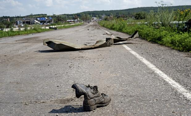 След сраженията в Донецк