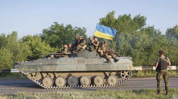 Танк на Украйна