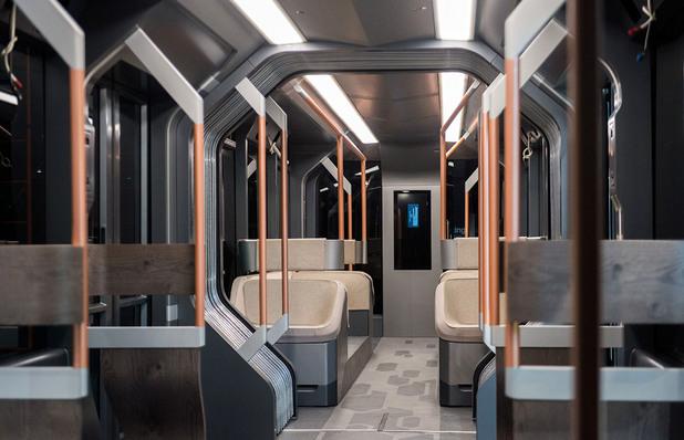 нов руски трамвай