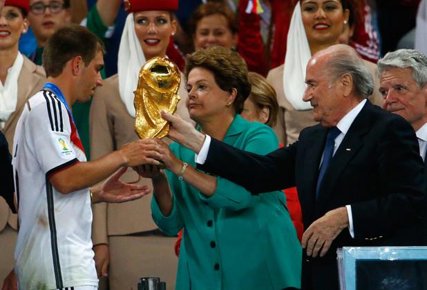 германия световен шампион, дилма русеф