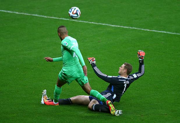 Нойер срещу Алжир