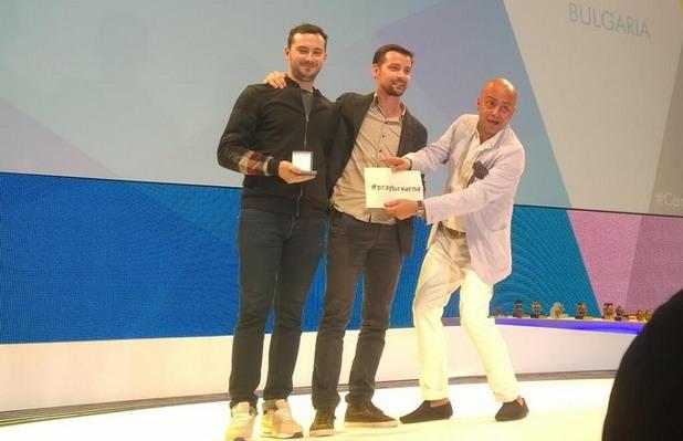 влади герасимов и желез атанасов получават първа награда на рекламния фестивал в кан