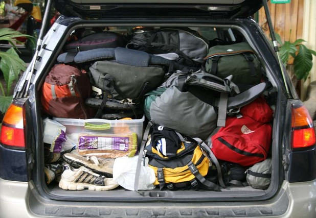 Претъпкан багажник