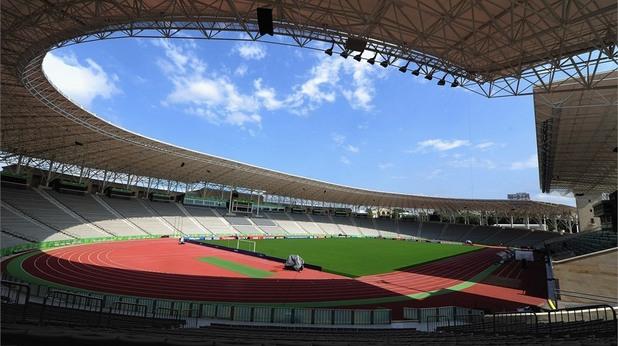 стадионът в баку