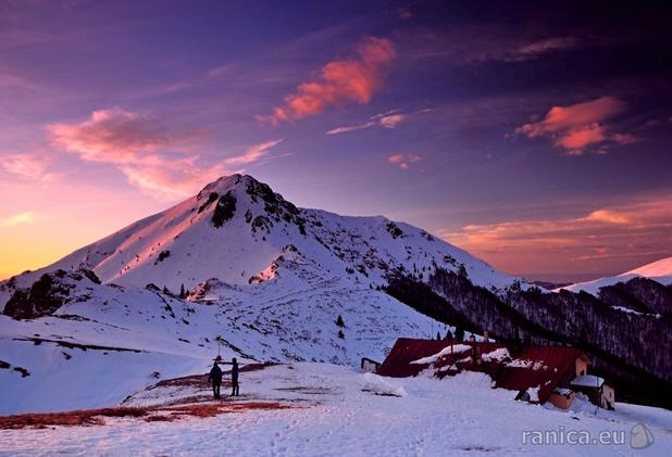връх юмрука в централен балкан