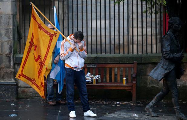 Шотландия гласува против независимостта