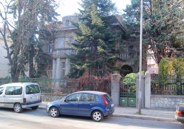 """Къщата на братя Симеонови, бул. """"Приморски"""" № 127 (срещу Морската градина), австрийски проект от 1928 г."""