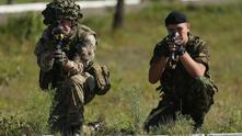Украински военни