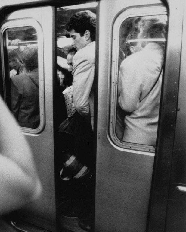Джон Ф. Кенеди в метрото