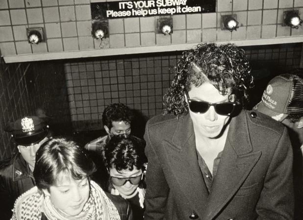 Майкъл Джексън в метрото