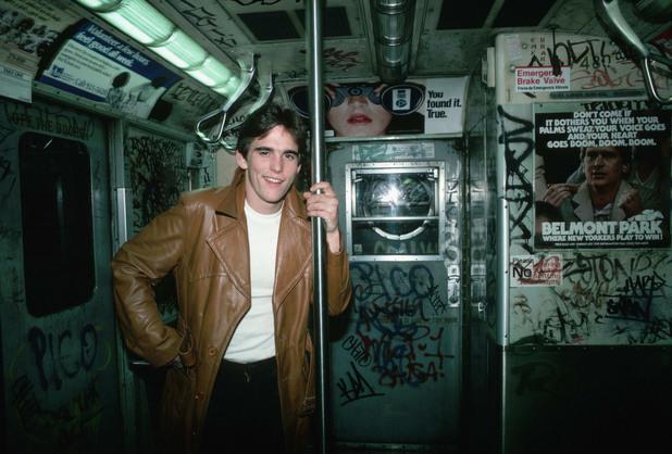 Мат Дилън в метрото