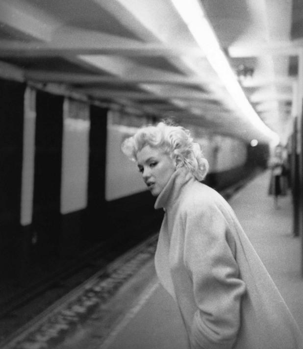 Мерилин Монро също краси метрото