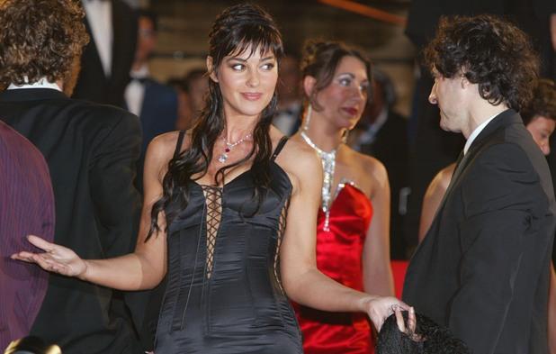 Моника Белучи на премиерата на Irreversible (2002)