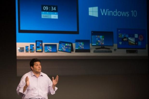 Майкрософт изненадващо обяви Windows 10 Terry Myerson, Executive VP for Windows